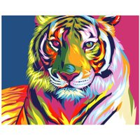 5D DIY Diamond Painting Round Diamond Cross Stitch Kit Diamond Embroidery Gold Fish Rose Tiger Mosaic Needlework Hobby Crafts